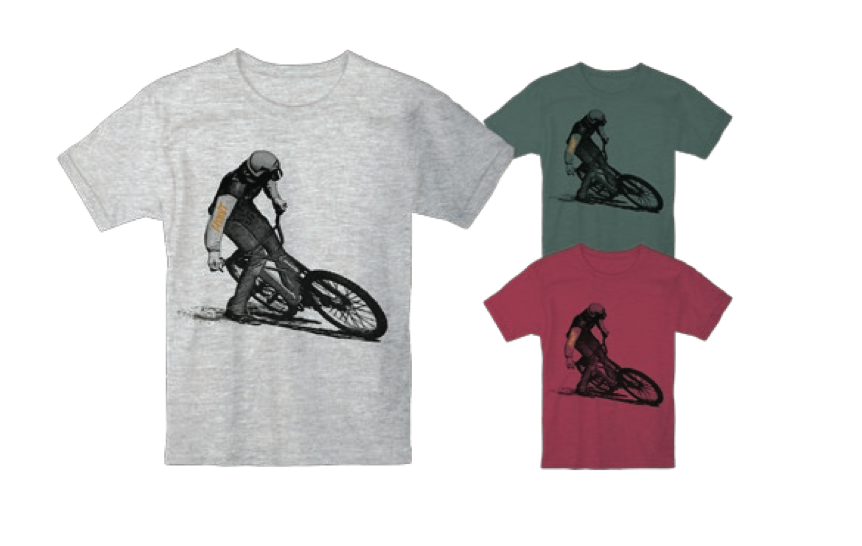 MTBVT Drifty Tee - VT Mountain Biking Shirts